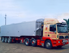 The firm operates a variety of trailer types and makes